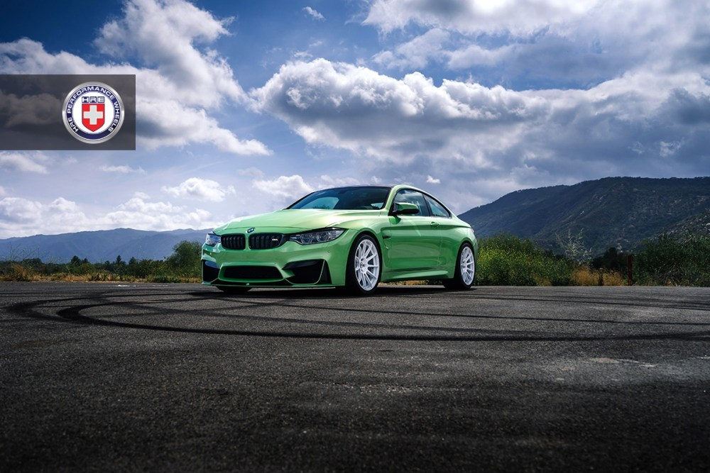 BMW M4 HRE RC103 Forged Wheels
