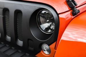 Chelsea Truck Company Jeep Wrangler CJ300 Orange