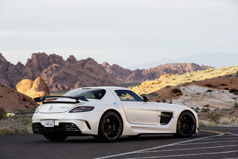 Mercedes-Benz SLS AMG Coupé Black Series