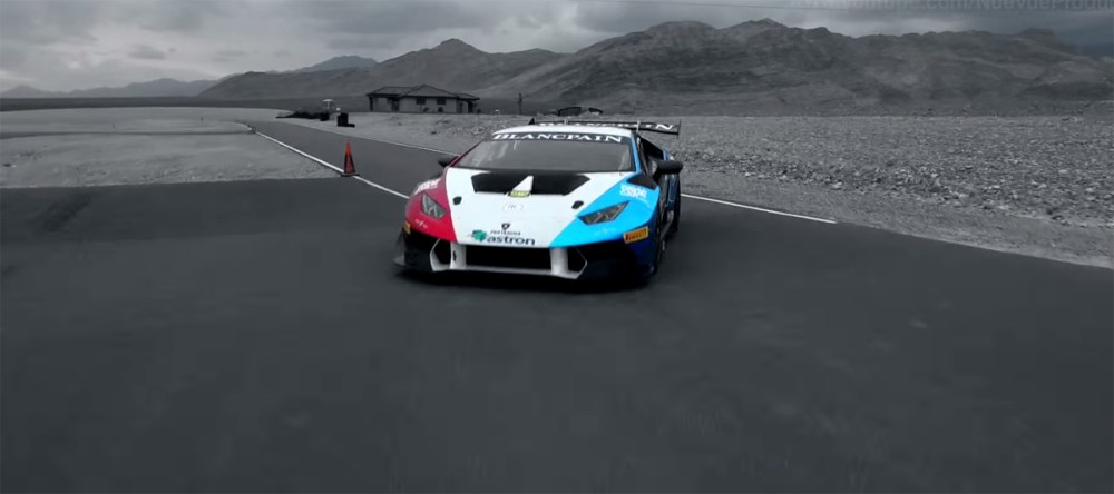 Lamborghini Huracán LP620-2 Super Trofeo Testing