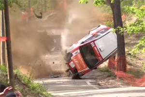 horrific rally crash