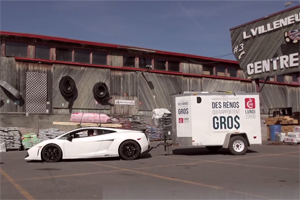 Lamborghini Gallardo Towing