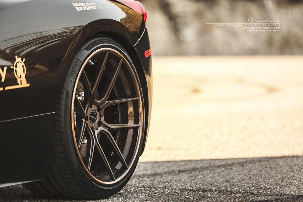 Ferrari 458 Italia Brixton Forged CM5 Targa Series Wheels