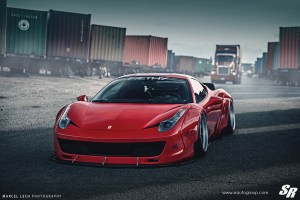 Liberty Walk Ferrari 458 Italia PUR LG08 Wheels SR Auto Group
