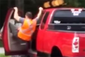 Friday FAIL Truck Idiot