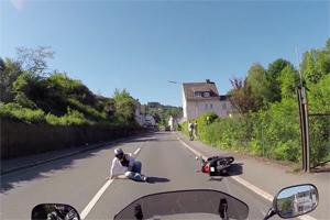 VW vs Scooter Friday FAIL