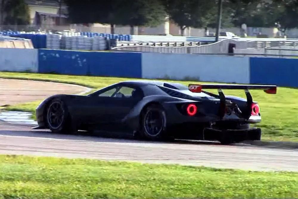 Ford GT GTE/GTLM Testing