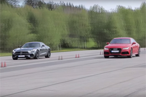 Mercedes-AMG GT S vs Audi RS 7