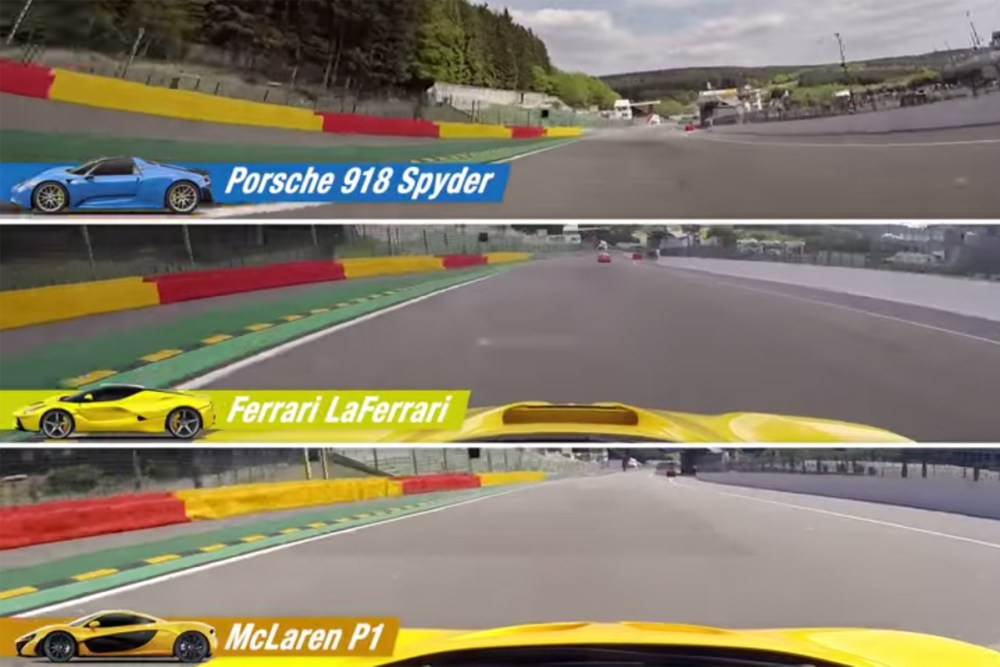 918 Spyder vs P1 vs LaFerrari