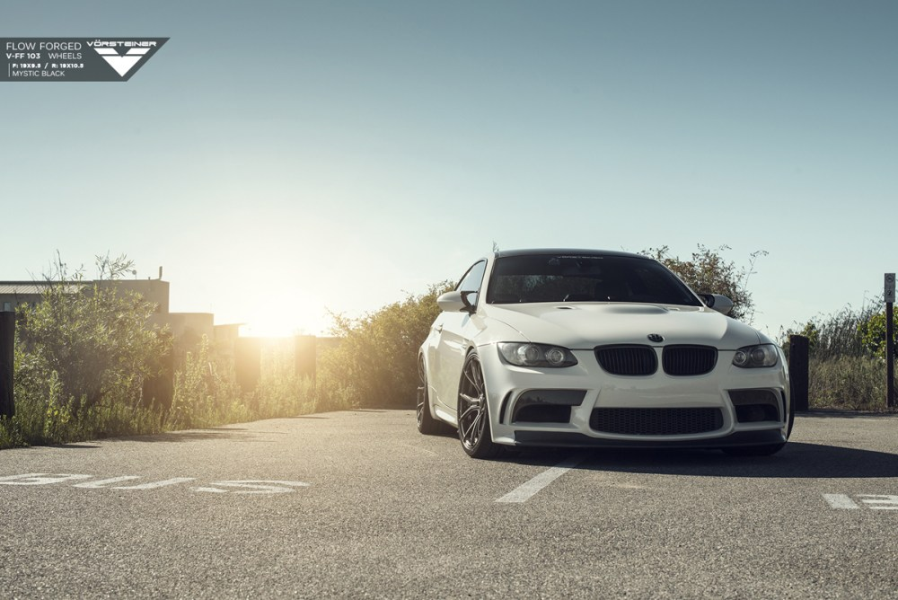 E92 BMW M3 Vorsteiner V-FF 103 Flow Forged