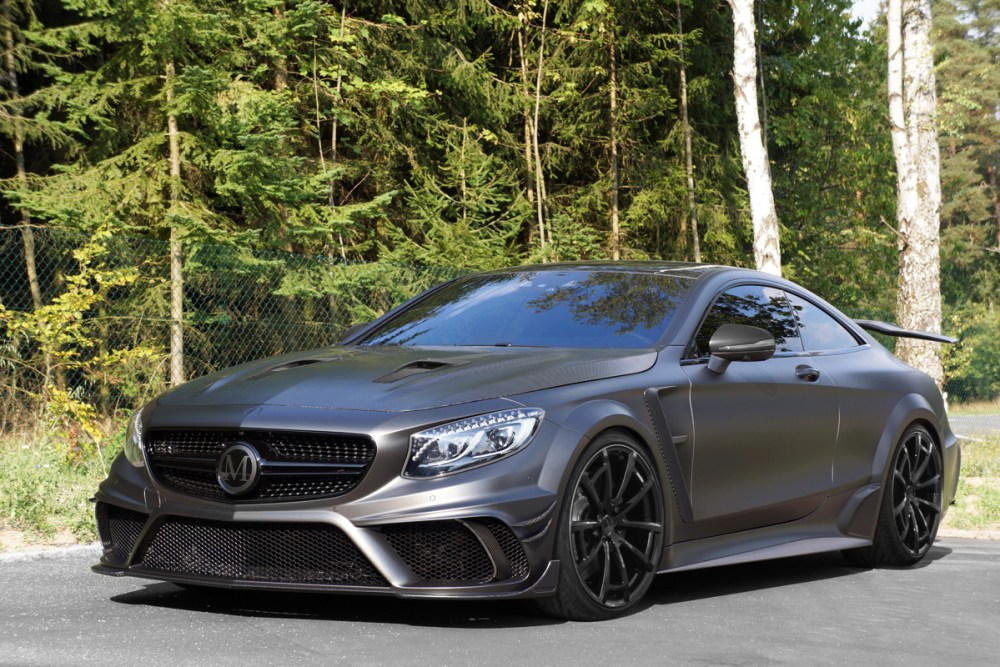 Mansory Mercedes-AMG S63 Coupe Black Edition (1)