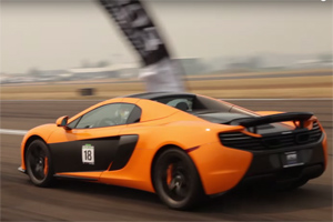 12-year-old McLaren racer