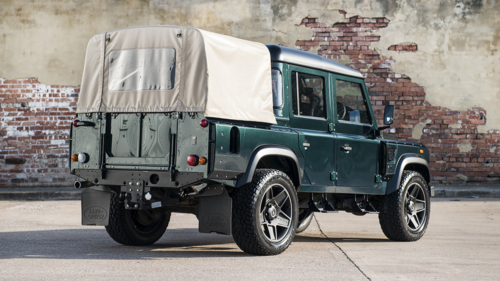 Land Rover Defender Double Cab Pick Up Chelsea Wide Track