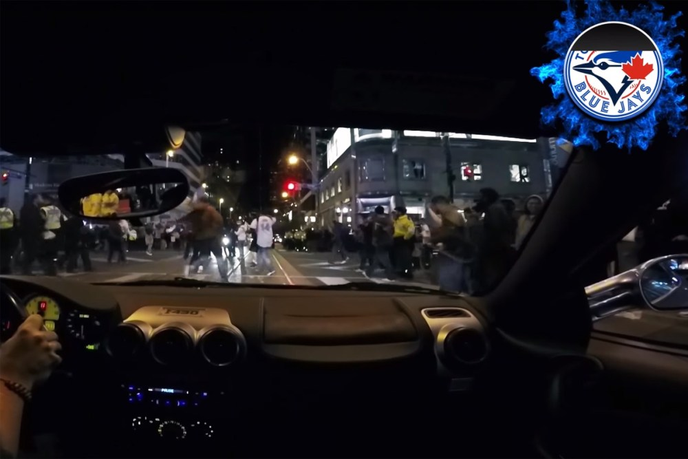 Blue Jays Ferrari Reaction Video