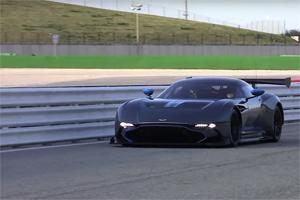 Aston Martin Vulcan Track Day