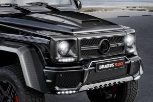 Brabus Mercedes G 500 4x4²