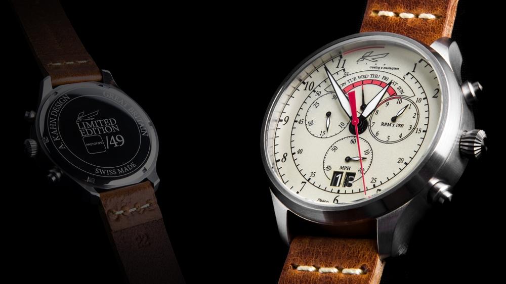 Kahn Limited Edition Drivers' Chronograph