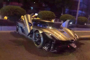 Koenigsegg Crash