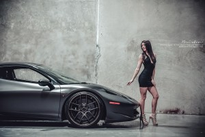 Ferrari 458 Italia with Brixton Forged CM5 Targa Series Wheels