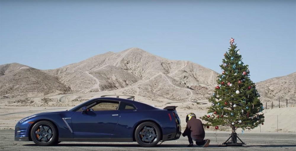Nissan GT-R Christmas Tree Undecoration