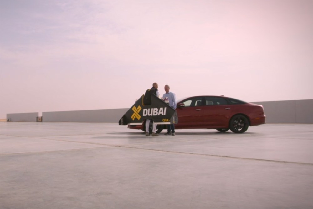 Jaguar XJR vs Jet Pack