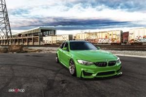 Signal Green Powerbeast BMW M3