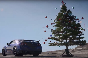 Nissan GT-R Christmas Tree Undecoration