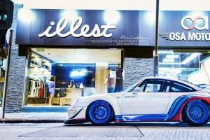 RWB Porsche 993 with Brixton Forged VL20 Wheels