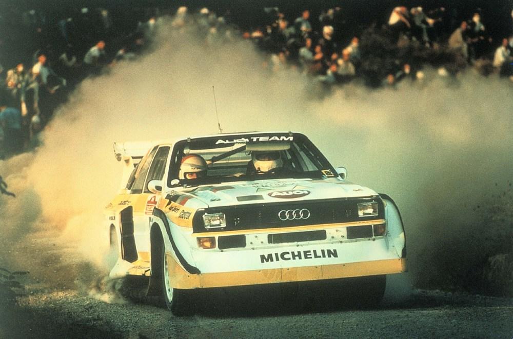 Walter Röhrl Rally Portugal 1985