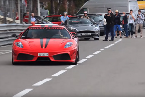 Straight-piped Ferrari F430 Scuderia