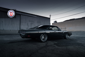 Dodge Charger Tantrum with HRE Wheels