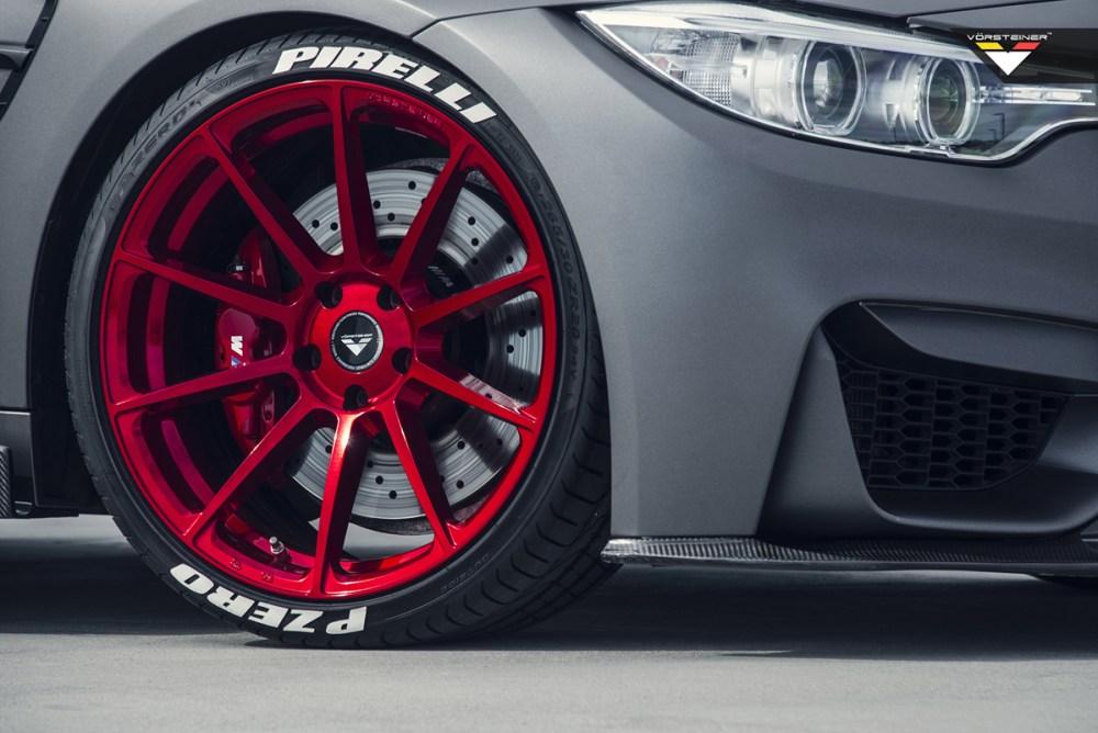 Frozen Grey BMW M4 with Vorsteiner V-FF 102 Flow Forged Wheels by R1 Motorsport