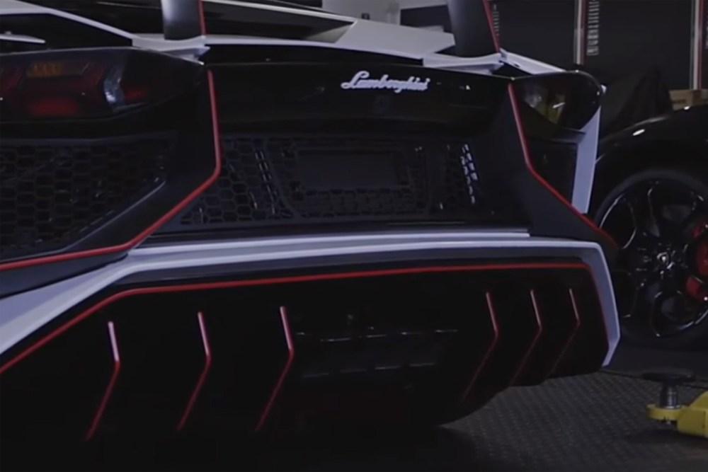 Lamborghini Aventador LP 750-4 SV with Armytrix Exhaust