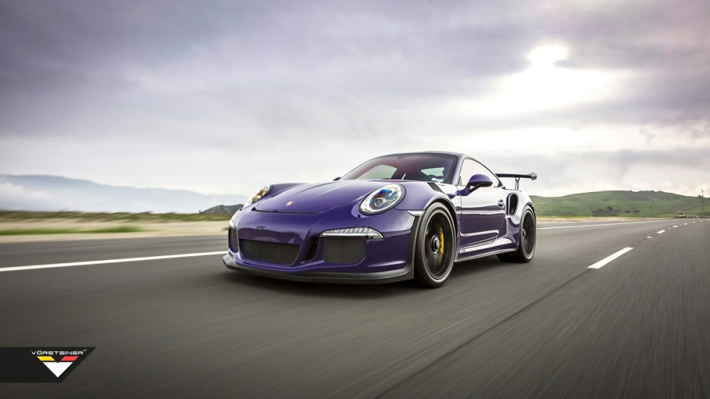 Purple Vorsteiner Porsche 911 GT3 RS