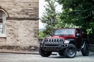 Cheslea Truck Company Jeep Wrangler Black Hawk Wide Track