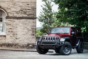 Cheslea Truck Company Jeep Wrangler Black Hawk Wide Track