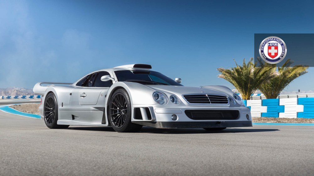Mercedes-Benz CLK GTR with HRE P103 Forged Wheels (1)