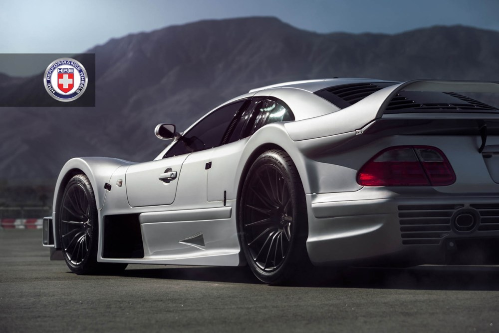 Mercedes-Benz CLK GTR with HRE P103 Forged Wheels (4)