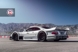 Mercedes-Benz CLK GTR with HRE P103 Forged Wheels (7)