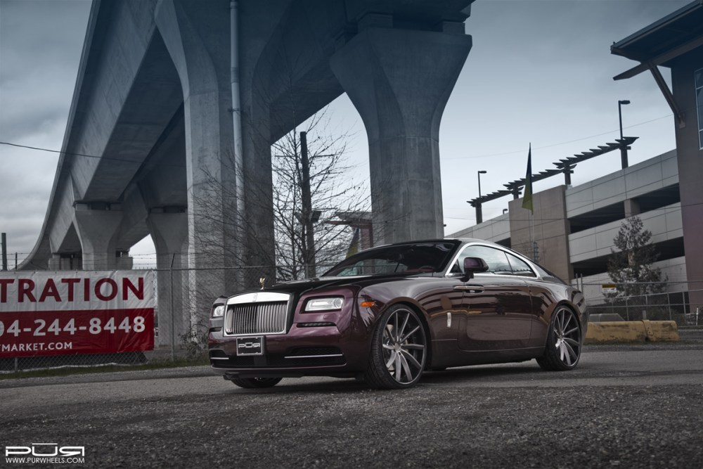 Rolls Royce with PUR LX15 Forged Wheels