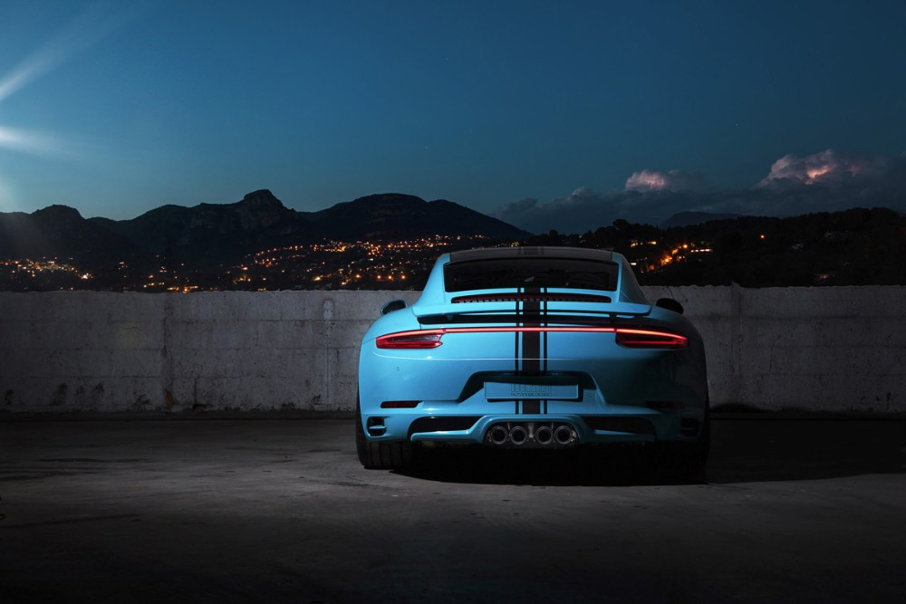 TechArt Porsche 911 Carrera and Turbo Customization