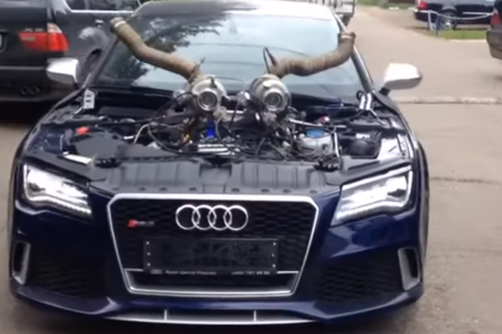 Audi RS 7 Stage 10 Turbo