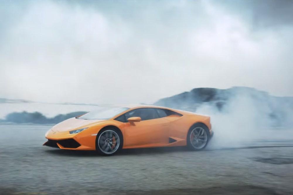 Lamborghini Huracan Race Against Time