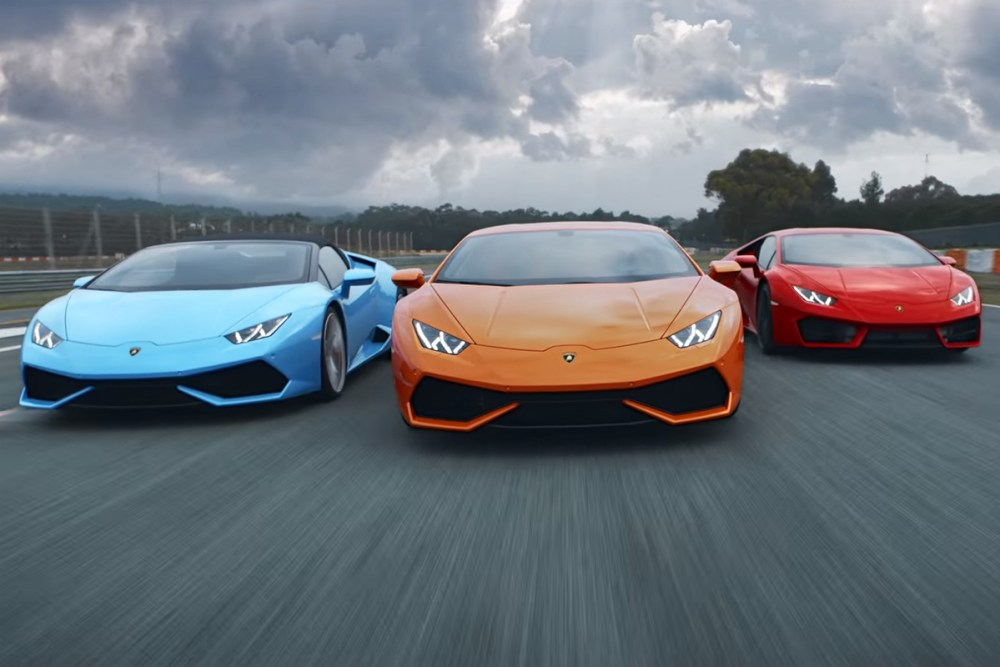 Lamborghini Huracan Race Against Time