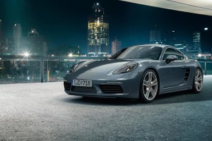 Porsche 718 Cayman and 718 Cayman S