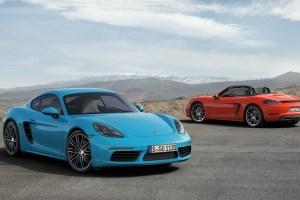 Porsche 718 Cayman and 718 Cayman S