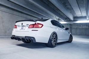 BMW M5 with Brixton Forged CM8 Targa Series Wheels