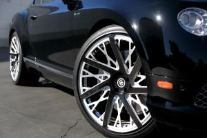 Bentley Continental GT Speed with Fondmetal Signature Series FMS02 Wheels