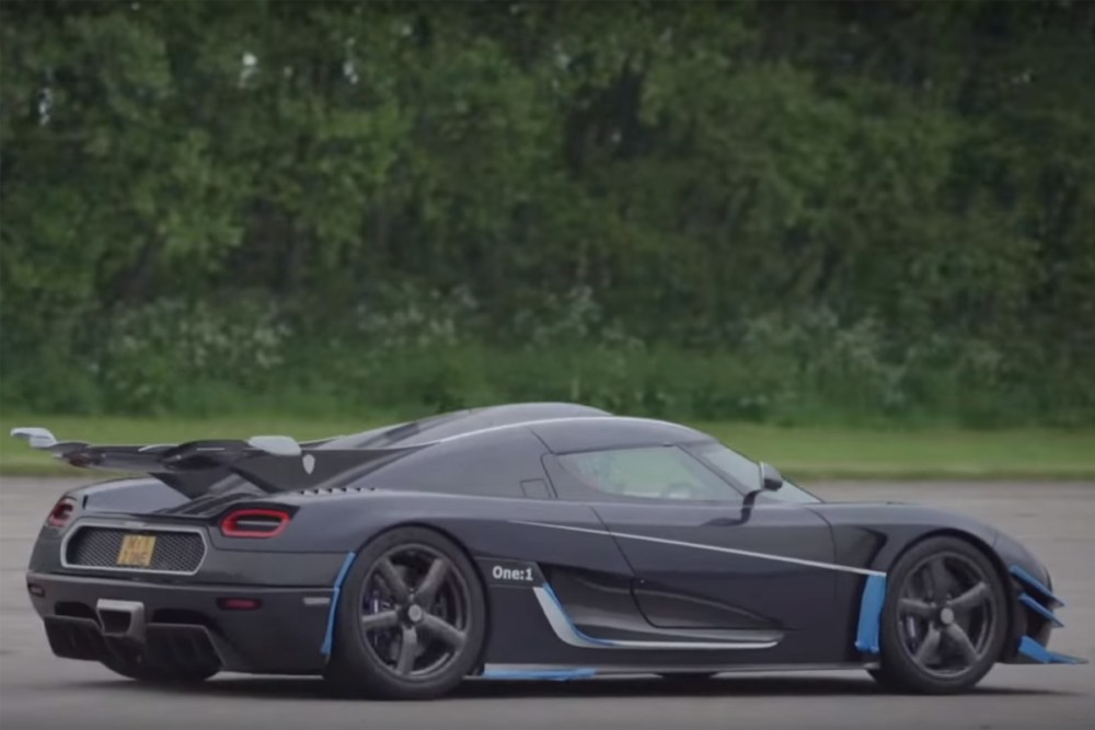 Koenigsegg One:1 Speed Records