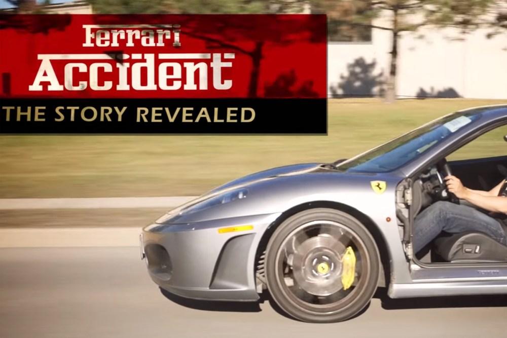 the.leviathan Ferrari F430 Door Accident Story